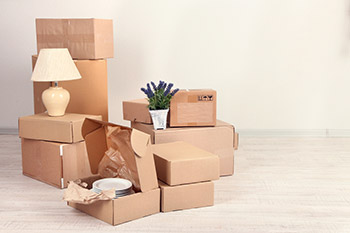 Removals in Sunbury-On-Thames - Packed Boxes