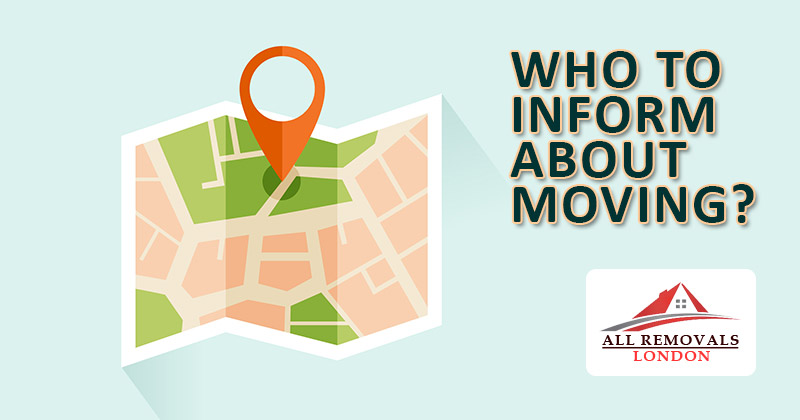 Who to inform about move?   Directory