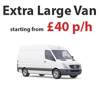 Removals Extra Large Van in
