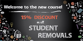 Student Removals Greenwich Peninsula