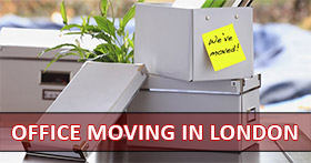 Moving Office Islington