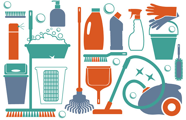 Cleaning before you move in or move out