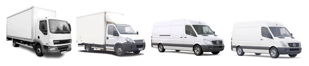 Vans and Trucks Furniture Transportation Fleet