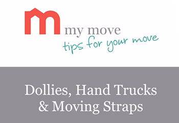 How to use dollies, hand trucks and moving straps to make your next move easier!
